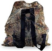 REEKGET Camo Hunting Bags Mesh Decoy Bag Duck Goose Turkey Hunting Back,Large-Capacity Bait Bag,Drake Decoys B