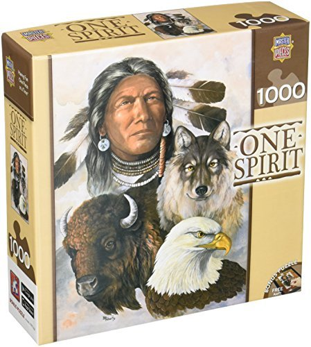 Masterpieces One Spirit Jigsaw Puzzle Puzzle Puzzle (1000-Piece) by MasterPieces 4dd665