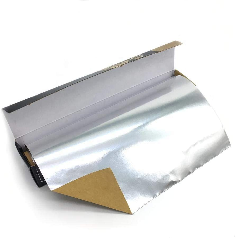 Parchment-Lined Foil 30cm X 15m Laminated Parchment Food Packing Backed Paper Aluminum foil