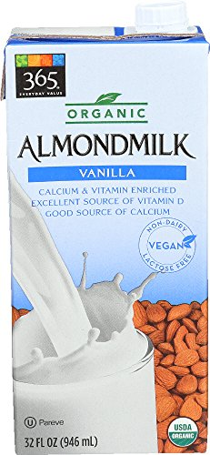 365 Everyday Value, Organic Almondmilk Vanilla, 32 Fl Oz