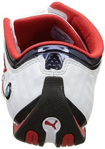 Sneakers 02 Future Unisex Cat White Red Risk Bianco Puma M1 high Ms BMW Bianco BXSqwnAaU