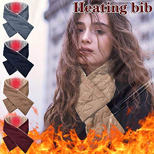 Neck Heated Scarf, Rechargeable USB Heated Scarf, Heat Therapy for Soreness BiuBuy