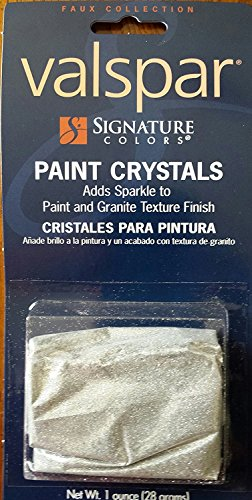 - Valspar signature colors 123ABC 1 Oz. Interior Silver Paint Crystals