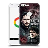Official HBO Game Of Thrones Jon Versus Ramsay Battle Of The Bastards Hard Back Case for Google Pixel