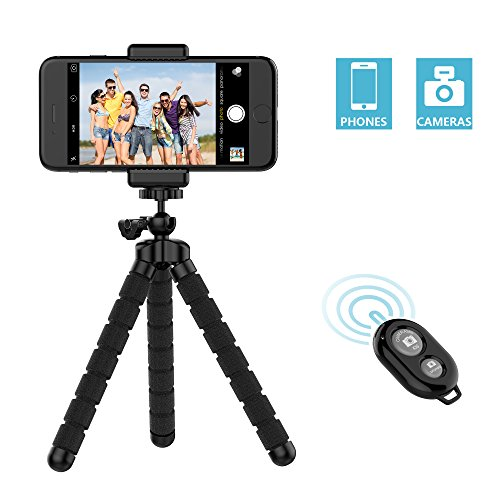Universal Telescopic Camera Tripod Stand Holder Mount For Phone - 8