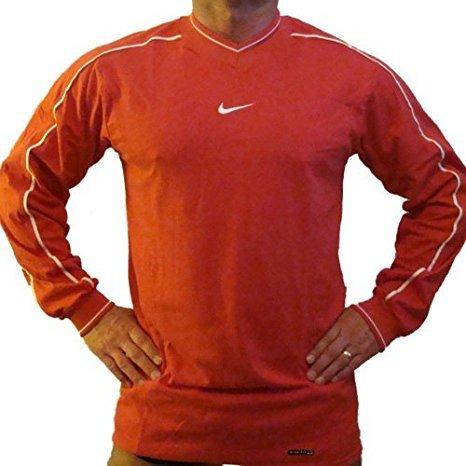 Nike - Camiseta Deportiva - Manga Larga - para Hombre Rojo Red 614  Talla XXL - 47-48 Chest  Amazon.es  Deportes y aire libre 69f563ec17e2d
