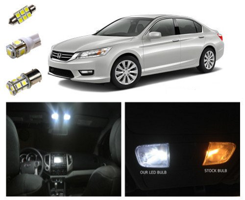 13 Honda Accord Led Package Interior Tag Reverse Lights 10 Pieces Buy Online In Uae