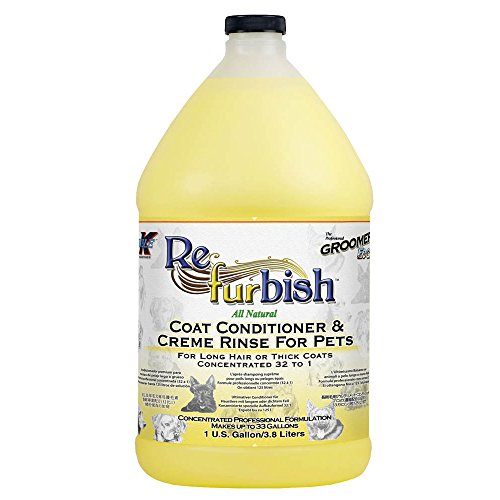 (Groomers Edge Re-Fur-Bish Conditioner, 1 Gallon)