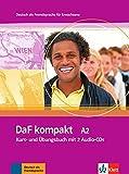 Daf kompakt. A2. Kursbuch-Arbetisbuch. Con 2 CD Audio. Per le Scuole superiori