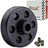 "Bravex Centrifugal Clutch 3/4"" Bore #35 Chain 12T 12 Tooth for Go Kart Mini Bike Engine 3/4 Bar,Up to 6.5 HP"
