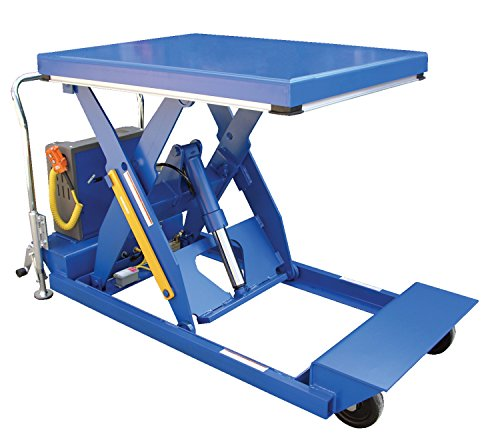 Vestil-PST-2464-2-58-HD-Portable-Scissor-Lift-Table-2000-lb-Capacity-24-x-64-Blue