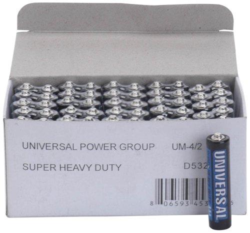 Universal Power Group UPG D5322/D5922 Super Heavy-Duty Battery Value Box AA; 50 pk