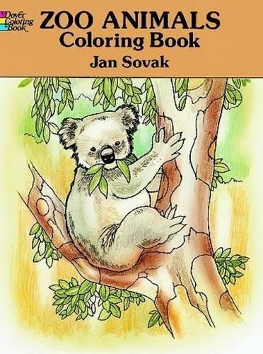 Zoo Animals Coloring Book (Animals Wild Dover)