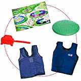 Circle Time Success Kit – For Sensory, Attention or Motor Challenges – Vests, Lap Pad, Cool Chews and Cushion – Ages 3-8