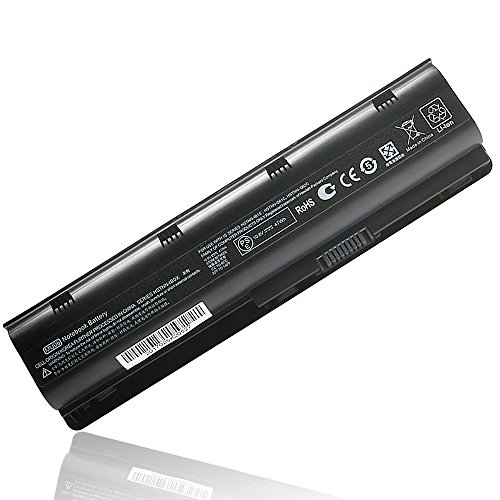 MU06 Notebook Battery for HP Compaq Presario CQ32 CQ42 CQ56 CQ57 CQ62 HP Pavilion DM4 DV5 DV6 DV7 G4 G6 G7 G56 G62 G72 Series Battery Fit Spare 593553-001 593554-001 HSTNN-LB0W - 12 Months Warranty ()