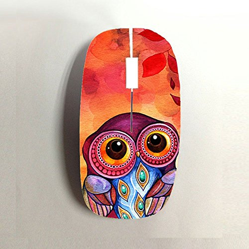 Funny Specificity Girls Wireless Mouse