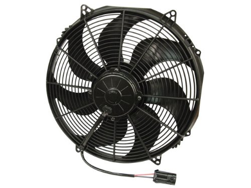 Spal 30102803 16 Curved Blade Puller Fan