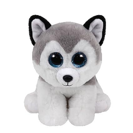 8c69fce39eb Amazon.com  Claire s Ty Beanies Girl s Ty Beanie Boo Small Buff The Husky  Dog Plush Toy  Ty Beanies  Toys   Games
