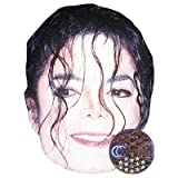 Michael Jackson Celebrity Mask, Card Face and Fancy Dress Mask