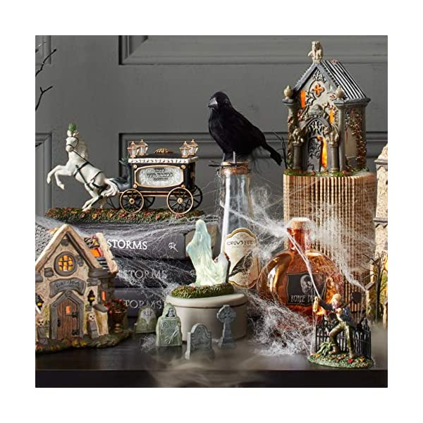 Department 56 Halloween Accessories For Village Collections Tombstones Figurine Set Multiple Sizes Multicolor