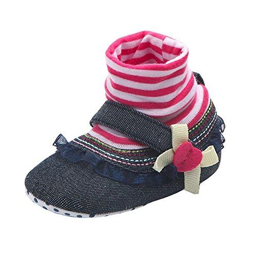 HAALIFE◕‿ Cute Cartoon Non-Slip Baby Floor Socks Winter Thickening Floor Socks Anti-Skid Warm Shoes Navy from HAALIFE Shoes