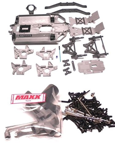Chassis Packages (TRAXXAS BRUSHLESS E-MAXX CHASSIS AND PARTS AND A SCREW PACKAGE)