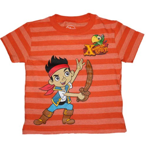 Disney Jake and the Never Land Pirates Little Boys Shirt (2T) ()