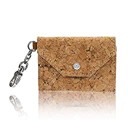 Thirty One Letters From London Wallet in Tan Metallic Cork - No Monogram - 6201