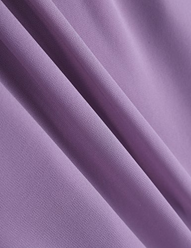 Robe 34 Taille Purple Manches Mariage Soire Crmonie iixpin Robe Adult 46 sans Dusty Dentelle de Demoiselle d'honneur pour de en Femme Robe Performance zqnwqBU7gH