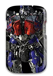 Hot IVBem7289Tkood Transformers Optimus Prime Tpu Case Cover Compatible With Galaxy S3