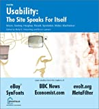 img - for Usability: The Site Speaks For Itself by Kelly Braun (2002-05-01) book / textbook / text book