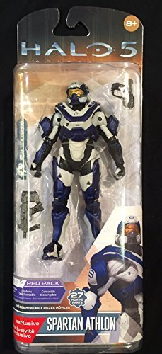 Halo 5 Toy - Guardians Series 1 Spartan Athlon Deluxe 6 Inch Action Figure by (Series 1 Deluxe Figure)
