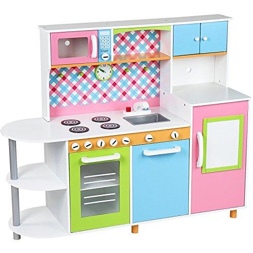 Infantastic cocinita de juguete con frigor fico y for Cocinitas para ninos
