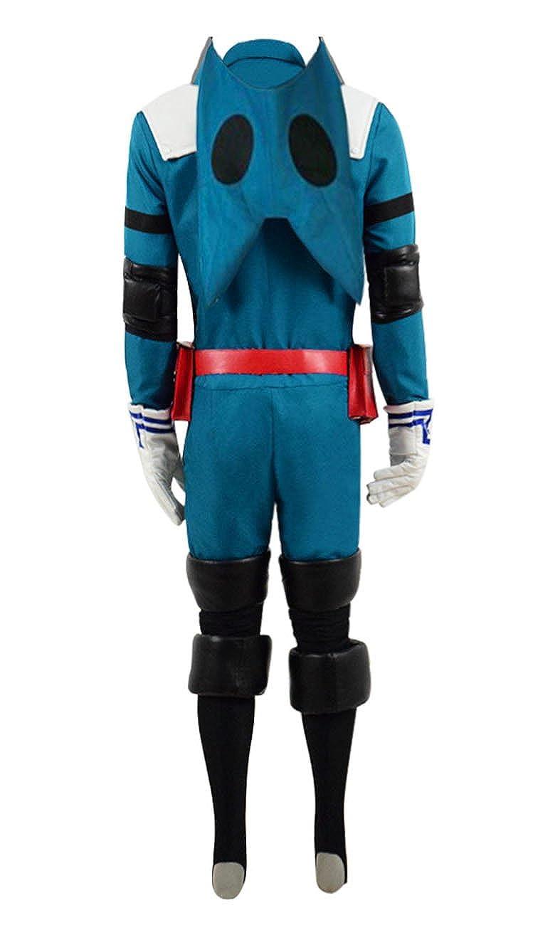 Yewei Japanese Anime Academia Izuku Kostüm Herren Blau
