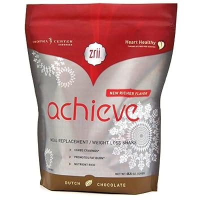 Zrii NutriiVeda Achieve Dutch Chocolate 45.2 oz Pouch - New Formulation