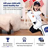 Born Toys Premium Deluxe Astronaut Costume for Kids Ages 3-7 with NASA Bag and Hat White