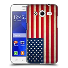 Head Case Designs United States Of America USA Vintage Flags Hard Back Case for Samsung Galaxy Grand Prime