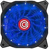 CIRCLE CG-16XB 120mm 15 LED Silent Cabinet Cooling Fan (Blue)
