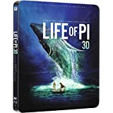 Life of Pi 3D 2014-Includes 2D Version-UK Exclusive Limited Edition Steelbook Blu-ray limited to 3000 prints matt finish