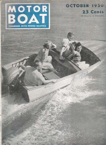 - MOTOR BOAT Cygnet Bristol Fashion Small Steel Cruiser ++ 10 1950