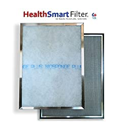 HealthSmart 16 1/2 x 20 1/2 AC filter / Furnace filter with (1) BioSponge Plus Replacement