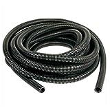 E Support 18mm 20 Feet Split Loom Wire Flexible Tubing Conduit Hose