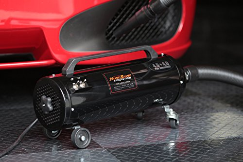 JUST INTRODUCED! Metro Air Force Master Blaster Revolution Car & Motorcycle Dryer - MB-3CDSWB MB-3CD SWB (Master Dryer Motorcycle Blaster)