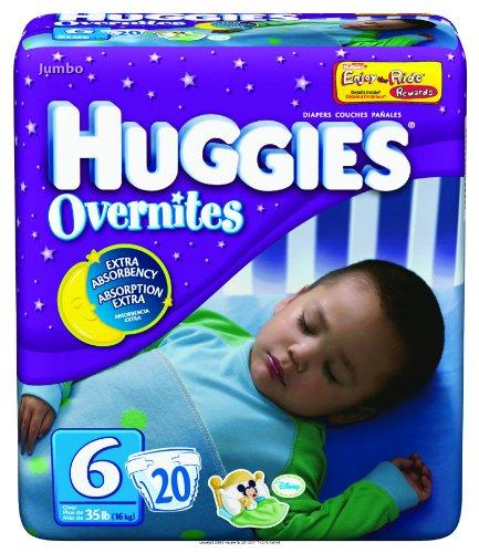 HIGGIES OVERNITES DIAPER SZ6, Higgies Overnites Diaper Sz6, (1 CASE, 80 EACH) by Kimberly-Clark