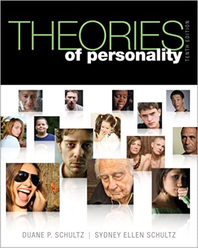 Theories Of Personality Schultz Pdf