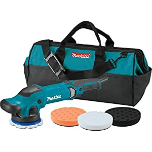 "Makita PO5000CX2 5"" Dual Action Random Orbit Polisher"