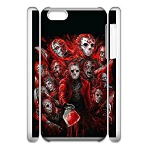 iphone6 Plus 5.5 3D Cell Phone Case White FRIDAY THE 13TH FORCEFUL ENTRY RJ2DS6508493