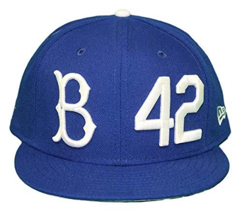 best authentic b8e9f 0894f New Era Brooklyn Dodgers 9FIFTY Cooperstown Jackie Robinson Hat - Light  Royal