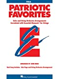 Patriotic Favorites for Strings, John Moss, 0634052802