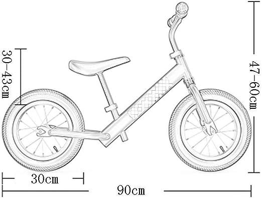 Bicicleta Sin Pedales Ultraligera Equilibrio para niños Bicicleta ...
